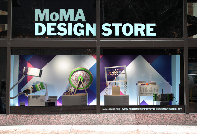 moma design store front