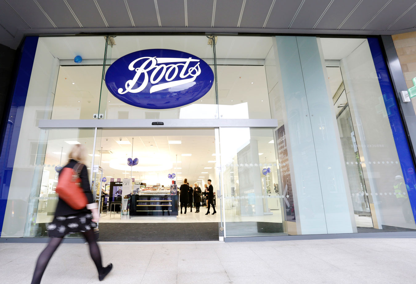 Boots store entrance
