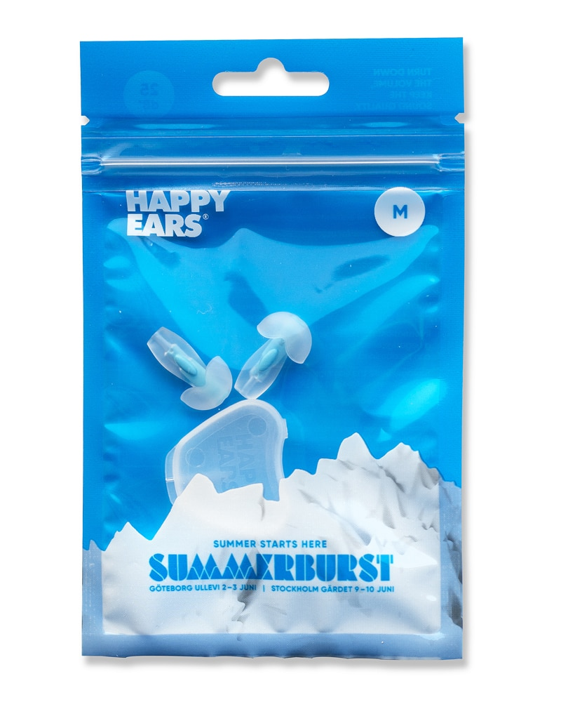 Happy Ears concert earplugs for summerburst festival